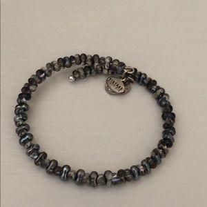 Alex and Ani Dark Silver/Grey Bracelet